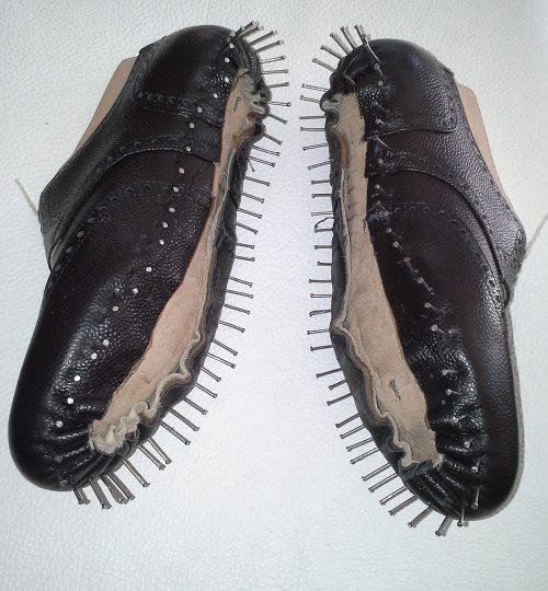 Félig kész cipő